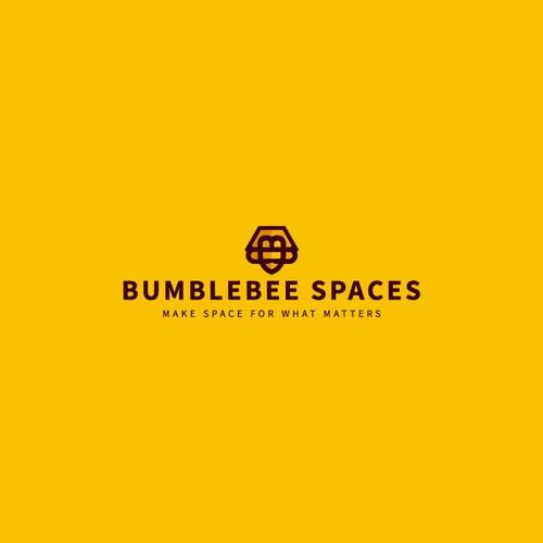 Bumblebee Spaces Logo Design