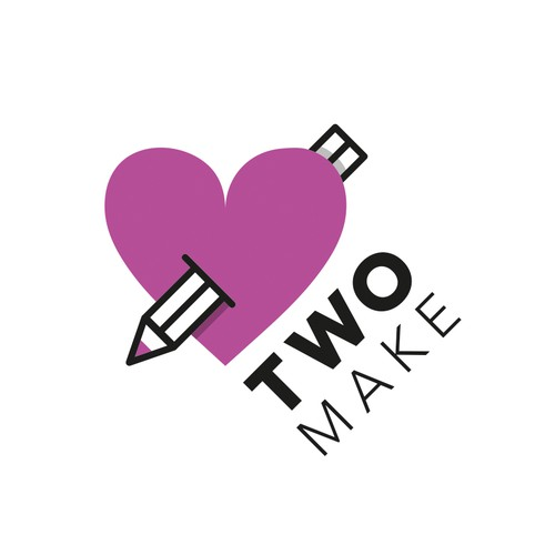 Two make logo design