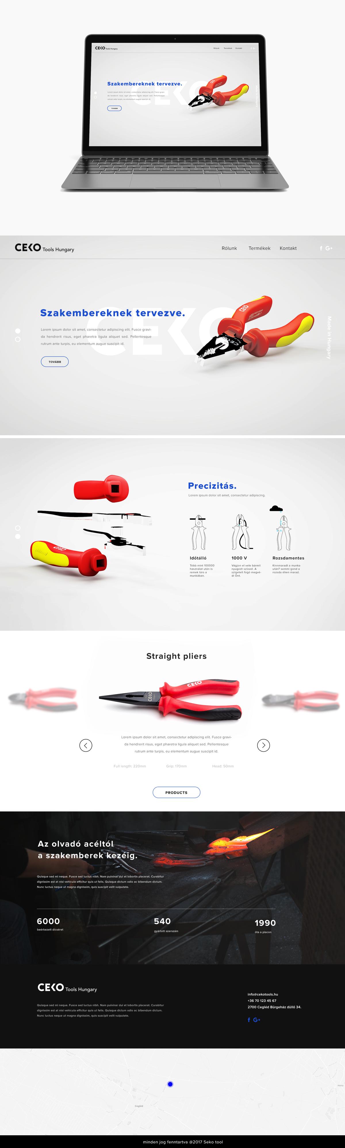 Hand tool website