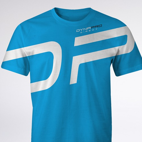 T-shirt design for fitness company