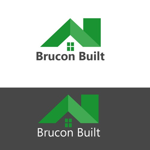 Create a logo for Brucon Built, an up and coming domestic builder