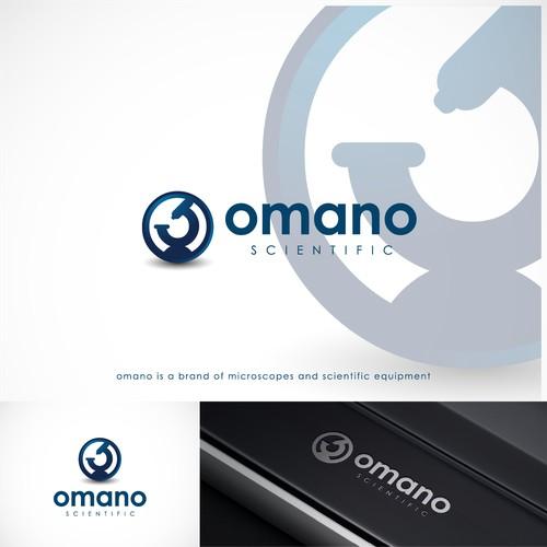 cool minimalist logo for omano