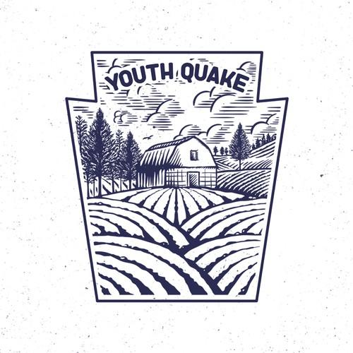patch style illustration