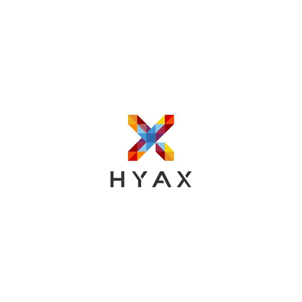 Hyax logo design for SaaS marketing automation company