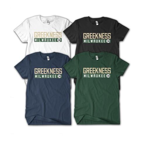 T shirt Greekness Milwaukee