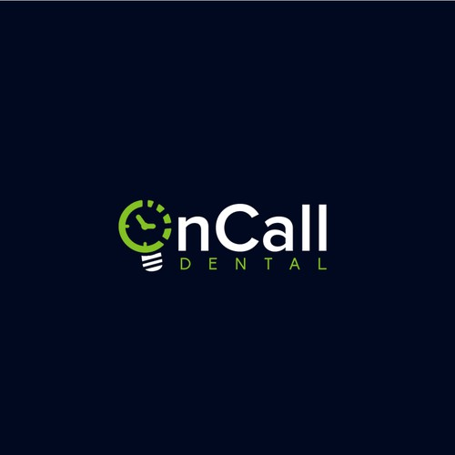 OnCall Dental logo design.