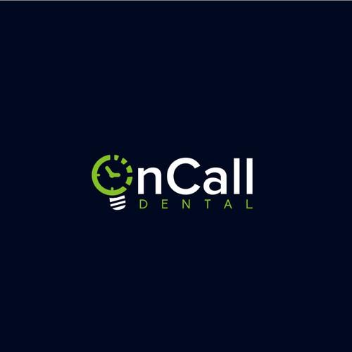 OnCall Dental logo design.