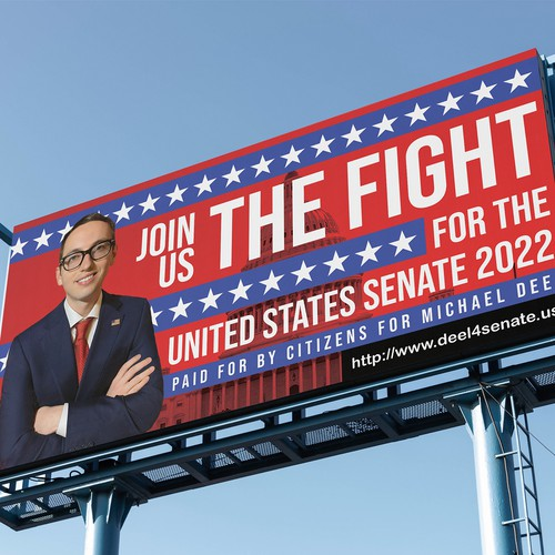 Billboard design for election Campaign
