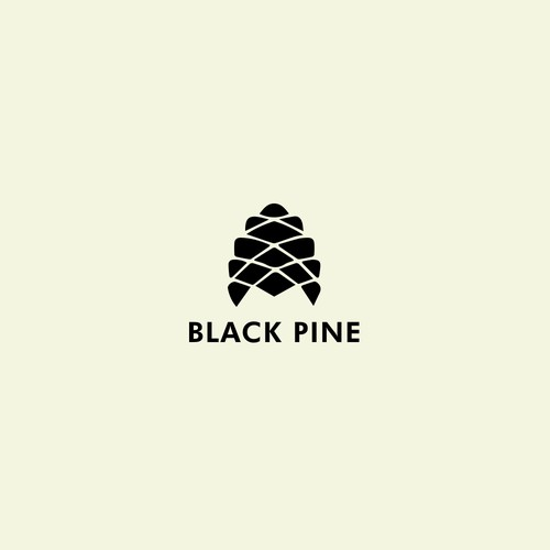 logo for black pine