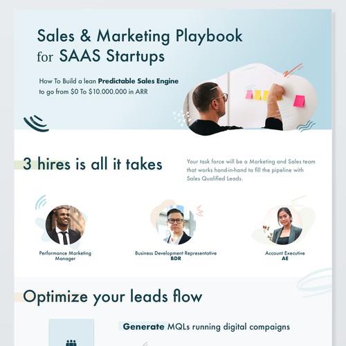 SAAS Startups Sales & Marketing playbook