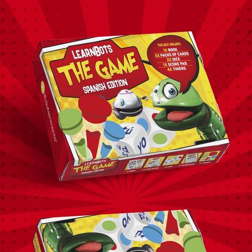 Game Box Packaging Design