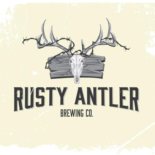 rusty antler