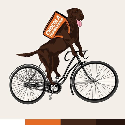 Chocolate Delivery Company - Mascot