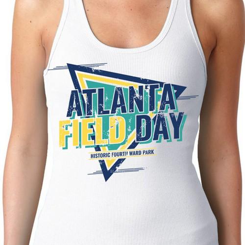 Atlanta Field Day T Shirt