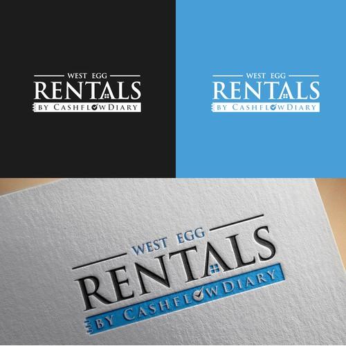 Winning logo entry for Short Term Rental Company