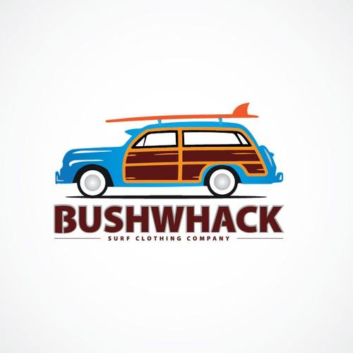 Surf Clothing Brand (Woody Car/VW Bus)