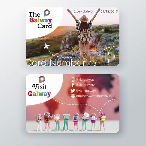 Diseño de tarjeta Galway