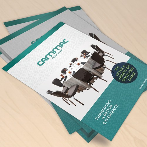 Create a dazzling brochure to help our start-up acheive the next level!