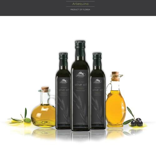 EVOO Bottle Label