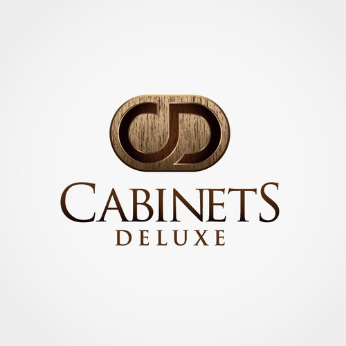Logo concept for cabinet builder.