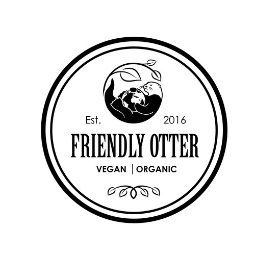 logo for Friendly Otter