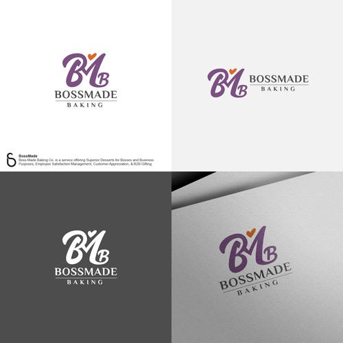 Logo design for BossMade Baking