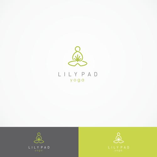lily pad yoga logo