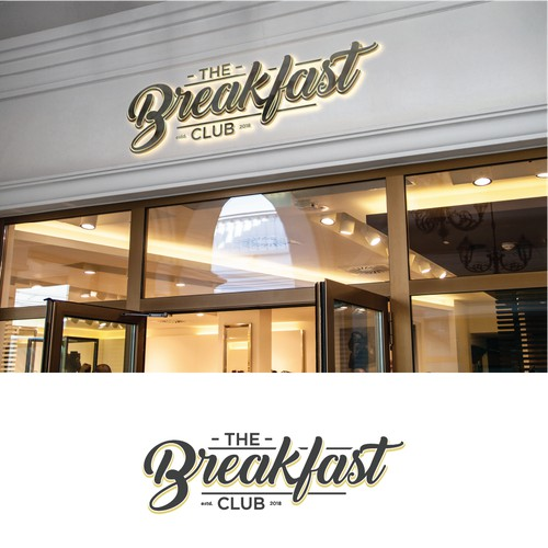 The Breakfast Club logo restourant