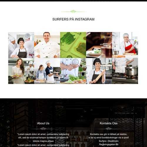 Challenge for the best of the best! Fun and creative restaurant website for Sweden's no. 1 favorite!