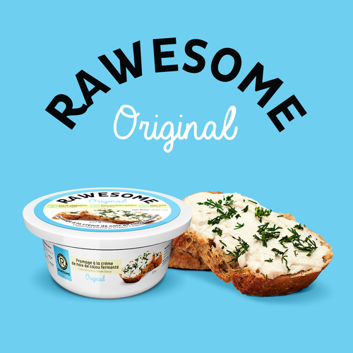Rawesome cashew cream cheese
