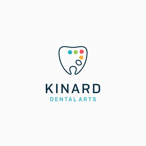 Logo concept for Kinard dental arts