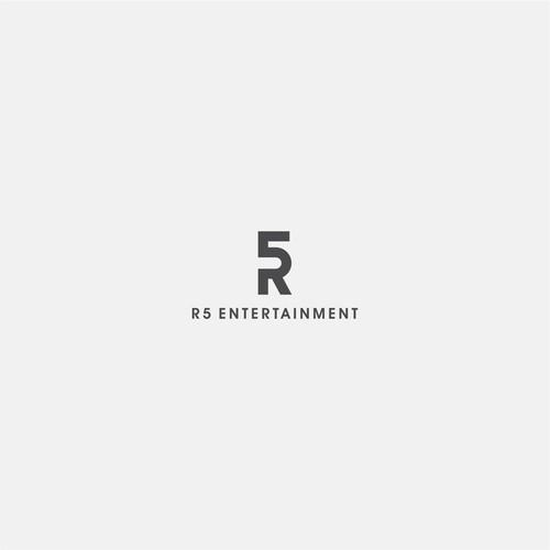 R5 Logo concept simple minimalist