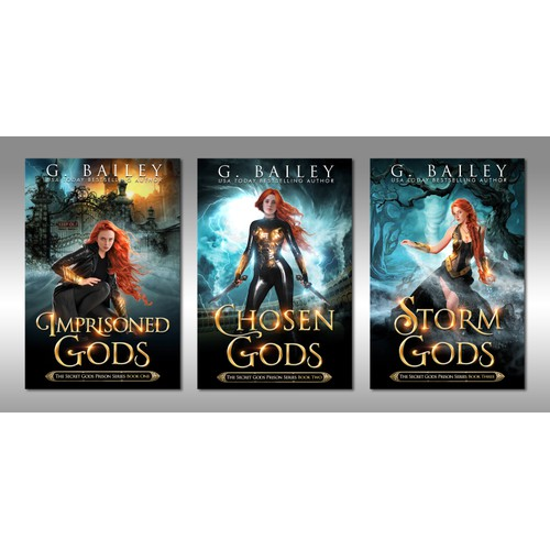 The Secret Gods Prison Series