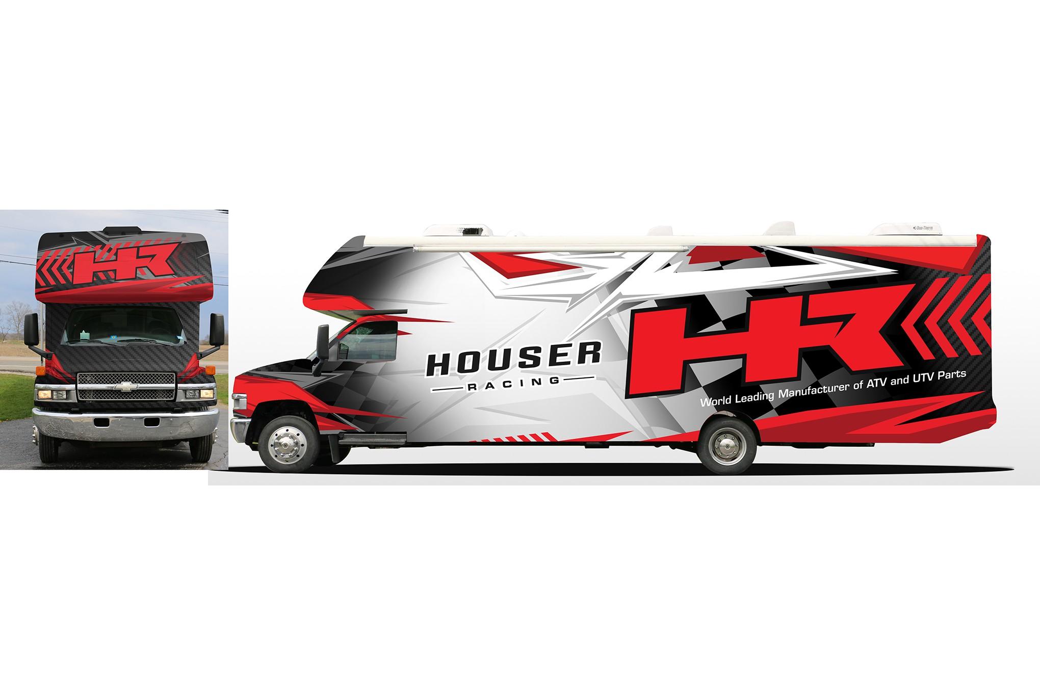Racing RV Wrap!! Flashy Eye Catching Design Needed!!!!
