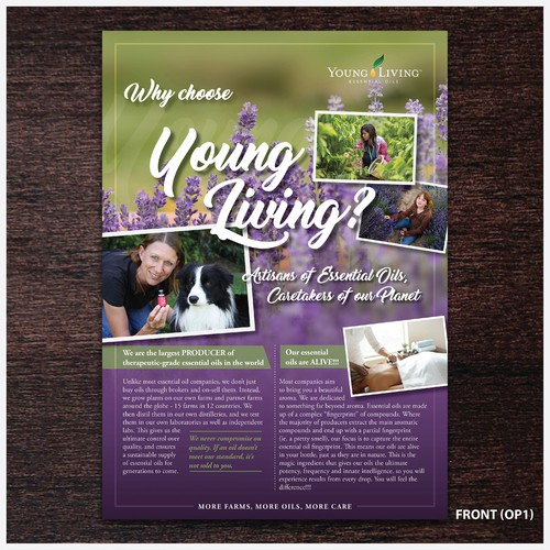 Young Living Flyer