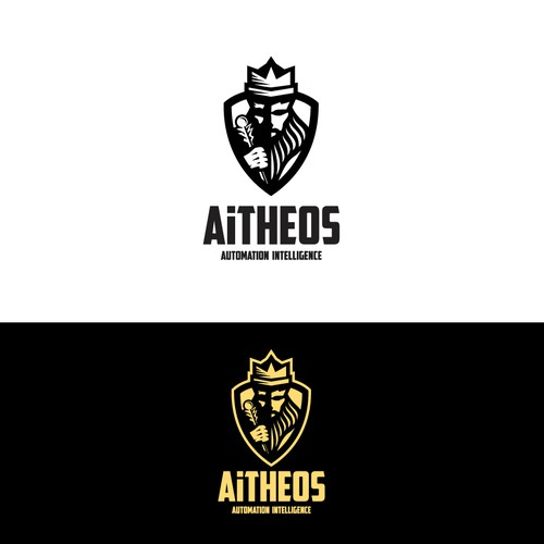 A Bold logo of Aitheos