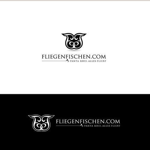 Simple and plain high class logo for flyfishing website needed