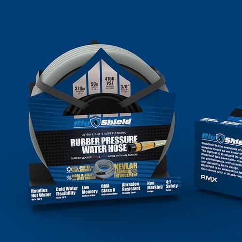 Rubber Pressure Water Hose Wrap Design