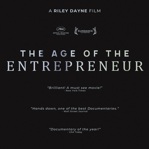 """Movie Poster for Documentary """"Age Of The Entrepreneur"""""""