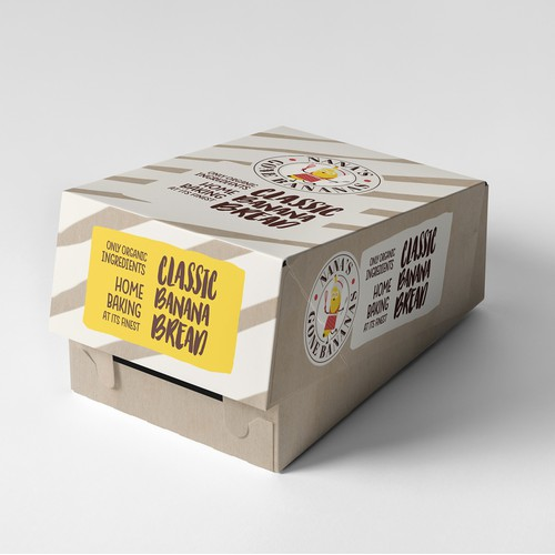 Banana Bread Packaging