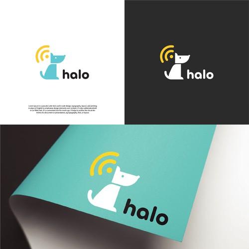 Logo design for pet tech company