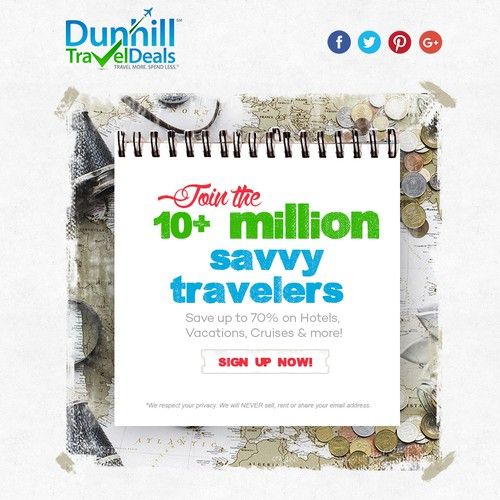 Creative Email Design for Travel Deals