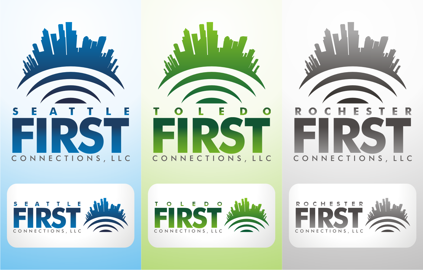 logo for First Connections, LLC