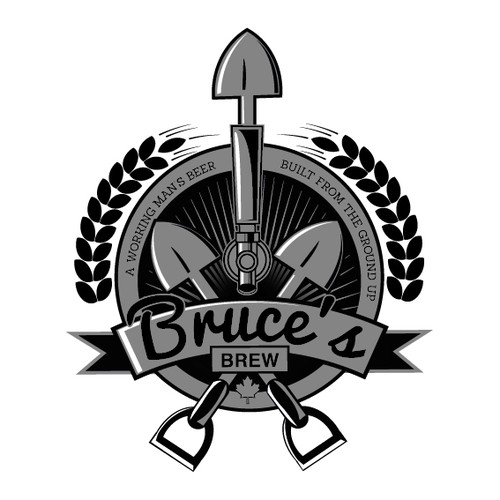 Bruce's Brew Logo
