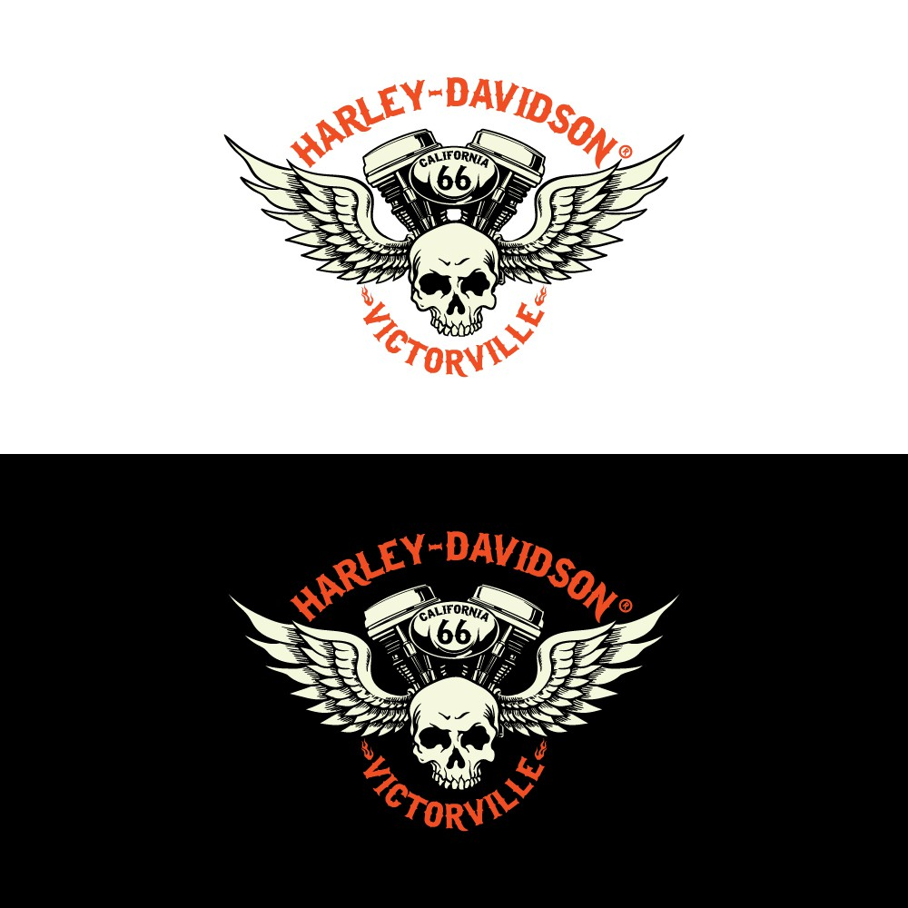 Create a logo that signifies Quality, strength, Luxury and a commitment to the Harley Lifestyle