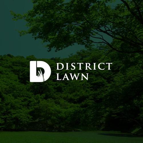 District Lawn Logo