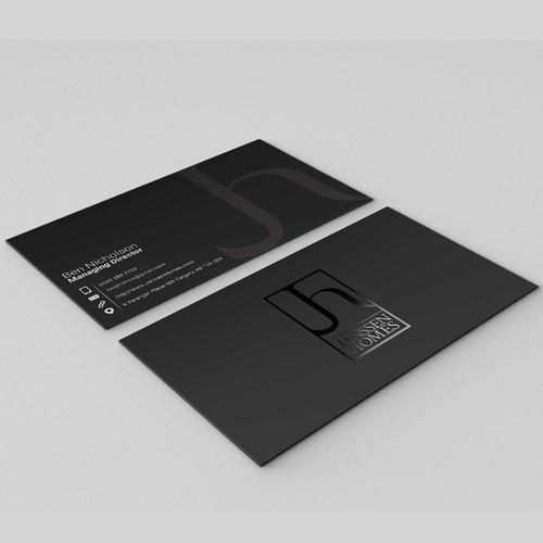 Clean UV biz card