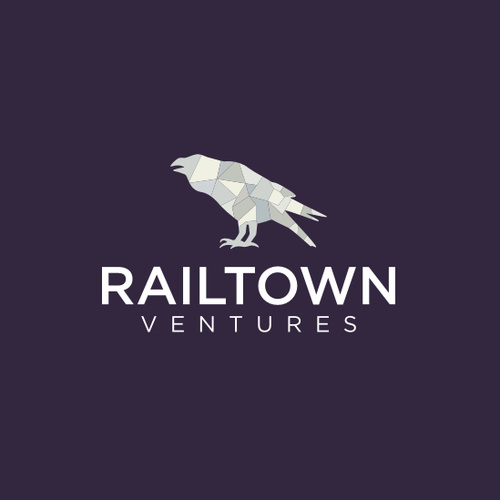 Design a modern logo for Railtown, a new Startup Studio in Technology