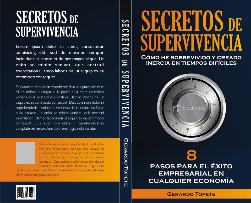 Gerardo Topete Needs a Book Cover for Business Owners and Entrepreneurs