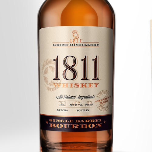 Single Barrel Bourbon Whiskey